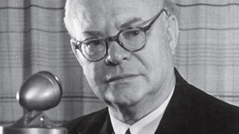 Erich Roßmann, Intendant Radio Stuttgart (Foto: SWR)