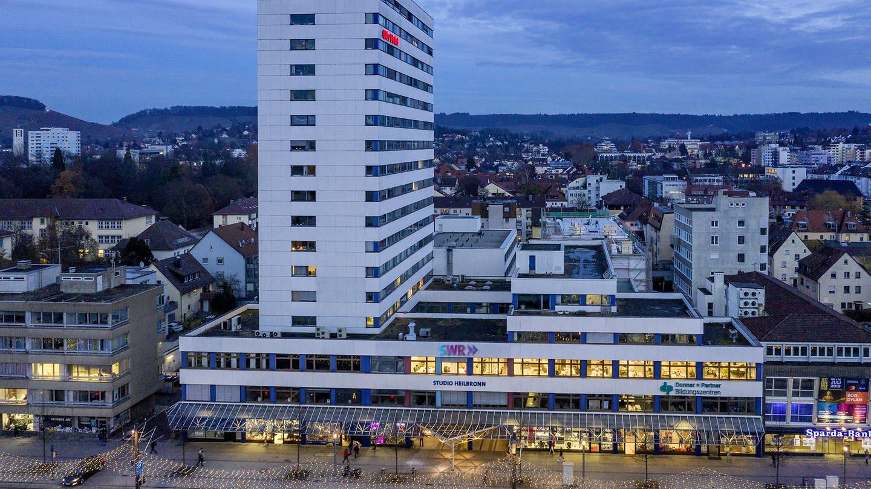 Das Bild zeigt das Studio in Heilbronn (Foto: Jürgen Pollak)