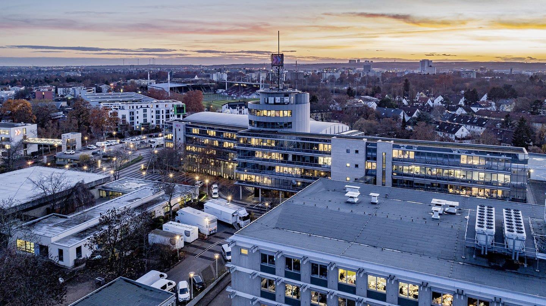 Das Bild zeigt das Funkhaus in Mainz (Foto: Jürgen Pollak)