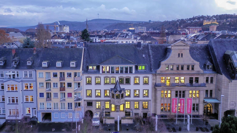 Das Bild zeigt das Studio in Koblenz (Foto: Jürgen Pollak)