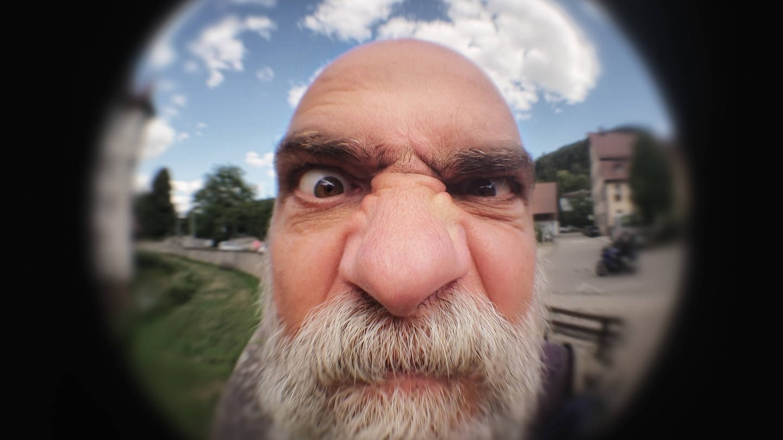 Verärgerter alter Mann (Foto: Imago, imago/Photocase)