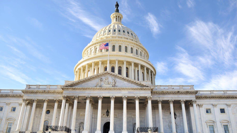 Kapitol in Washington D.C./USA, Sitz des Kongresses