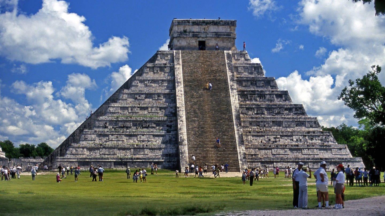 Pyramide des Kukulcán in Chichén-Itzá / Mexiko (Foto: Imago, imago images / blickwinkel)