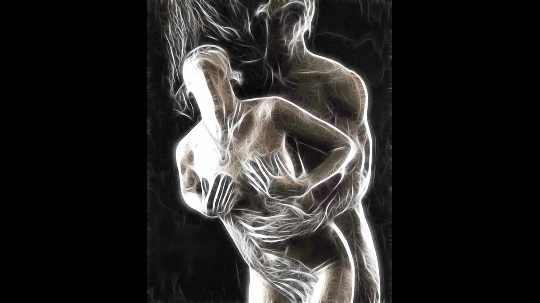 Abstrakte Darstellung einer Frau und eines Mannes beim Sex (Foto: picture-alliance / Reportdienste, picture alliance / All Canada Photos | Oleksiy Maksymenko)