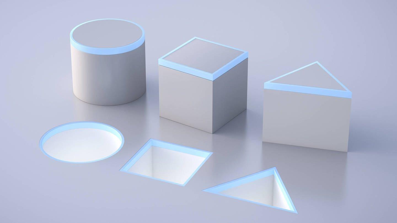 Kreis, Viereck, Dreieck: Intelligenztests können sinnvoll sein, wenn die Menschen optimal gefördert wurden (Foto: Imago, IMAGO / Westend61)