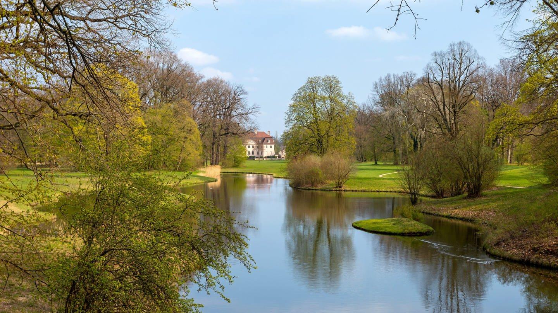 Frühling im Fürst-Pückler-Park Branitz in Cottbus (Foto: picture-alliance / Reportdienste, picture alliance / Andreas Franke | Andreas Franke)