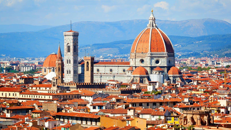 Der Dom in Florenz: Beispiel für den Goldenen Schnitt in der Architektur (Foto: Imago, IMAGO / blickwinkel)