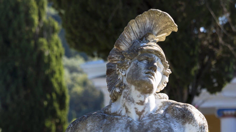 Der sterbende Achill im Achilleion auf Korfu (Foto: Imago, IMAGO / robertharding)