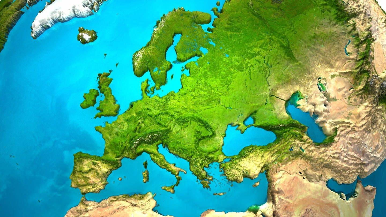 Kartenausschnitt Eurasien