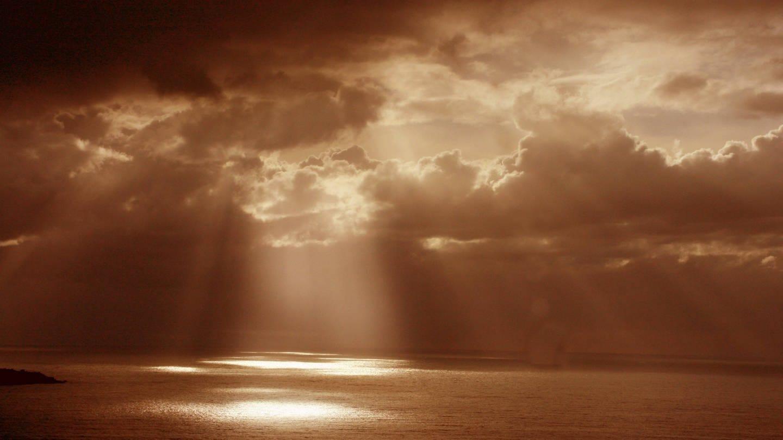 Wetterstimmung über dem Meer (Foto: Imago, imago images / McPHOTO)
