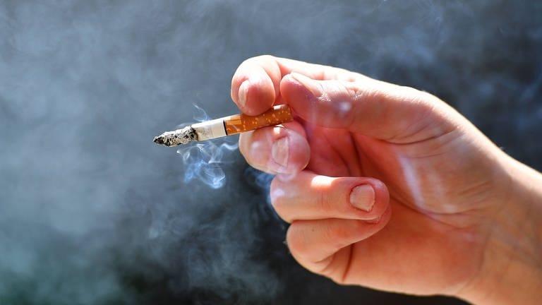 Raucherin extrem starke St Edward