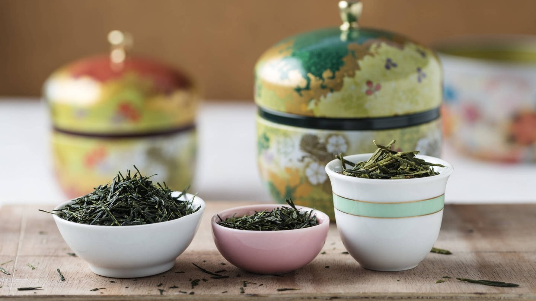 Grüner Tee: Gyokuro Shibushi, Sencha Kirishima und Bancha Shizuoka (v.l.n.r.) (Foto: Imago, imago/Westend61)