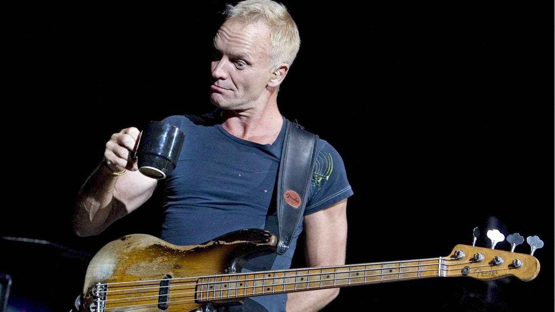 Sting, Sänger und Bassist der britischen Band