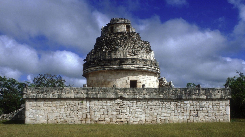 Chichén-Itzá, Observatorium, erbaut Ende 9. Jh. / Anfang 10. Jh. (Foto: picture-alliance / Reportdienste, picture alliance/akg-images)