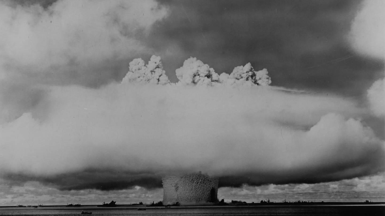 Unterwasserexplosion einer Atombombe der USA, 1962 (Foto: dpa Bildfunk, picture alliance / IMAGNO/Austri)