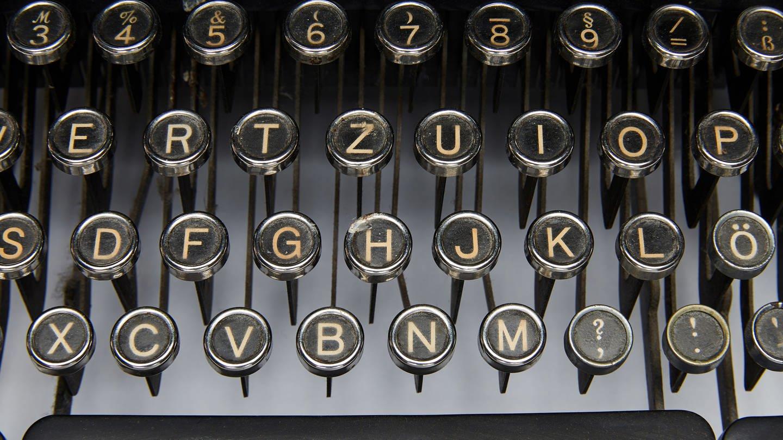 Tastatur einer alten Schreibmaschine (Foto: picture-alliance / Reportdienste, picture alliance/APA/picturedesk.com)