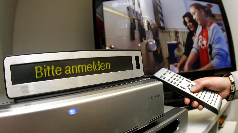Mess-Gerät für Fernseh-Einschaltquoten