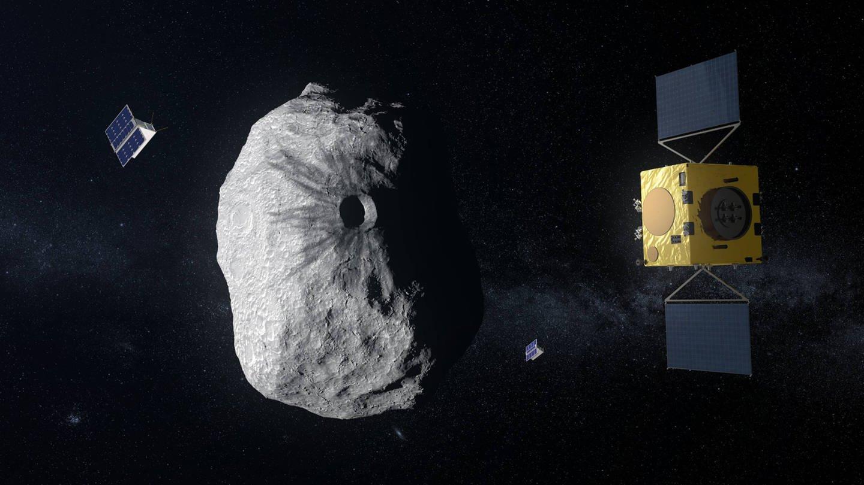 HERA-Mission zur Abwehr von Asteroiden (Foto: Imago, imago stock&people / ESA)