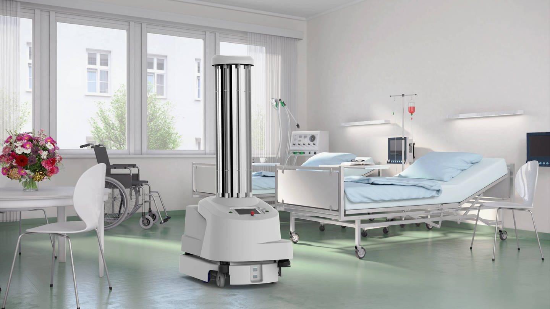 Roboter können im Kampf gegen das Coronavirus wertvolle Dienste leisten. (Foto: Imago, imago)