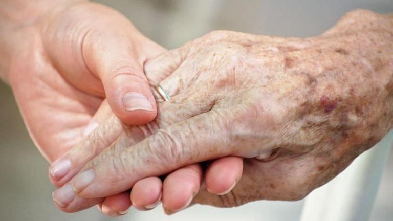 Alte und junge Hand (Foto: Colourbox, Foto: Colourbox.de -)