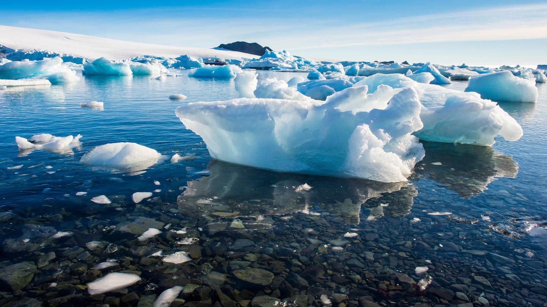 Eisschmelze vor dem Kap der Hoffnung (Foto: Imago, Michael Runkel via www.imago-images.de)