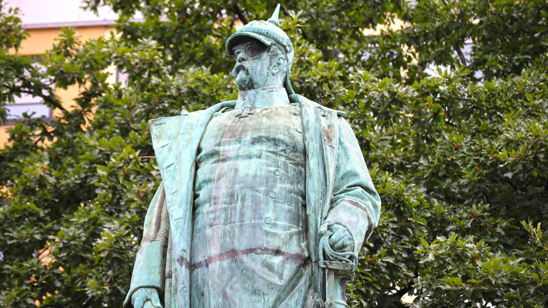 Das Bismarckdenkmal in Mannheim (Foto: Imago, imago images/U. J. Alexander)