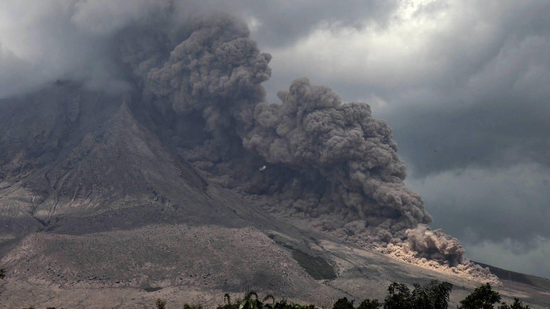Vulkanaussbruch Auslöser für Massenaussterben (Foto: Imago, imago images / ZUMA Wire)