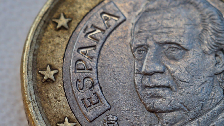 Spanische Euromünze in Nahaufnahme (Foto: Imago, imago images/YAY Micro)