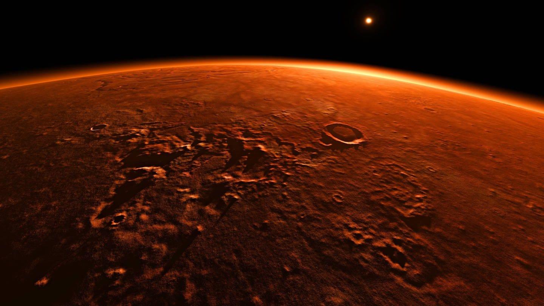 Die chinesische Mars-Mission soll auch dabei helfen, das Magnetfeld des Mars genauer zu erforschen. (Foto: Imago, imago/blickwinkel)