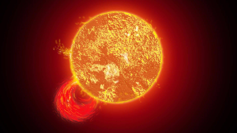 Sonnenstürme auf der Sonnenoberfläche (Foto: Imago, IMAGO / Panthermedia)