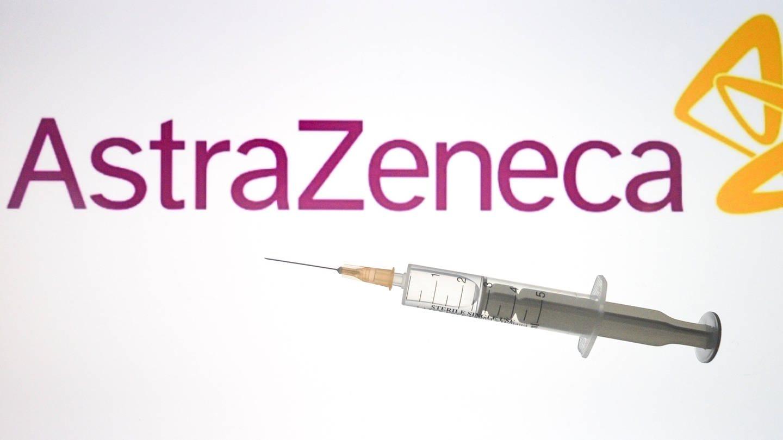 Logo von AstraZeneca (Foto: Imago, IMAGO / ZUMA Wire)
