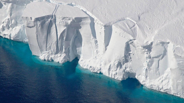 Eisfront in der Antarktis (Foto: Imago, IMAGO / ZUMA Wire)