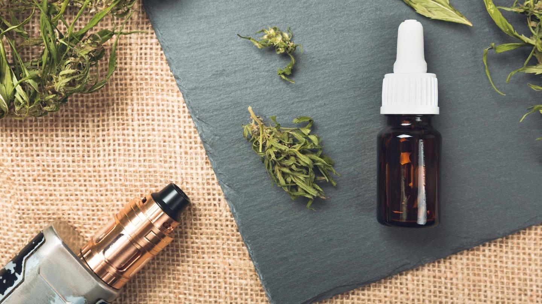 CBD und THC als Öl und zum Vapen: Hilft Cannabis gegen chronische Schmerzen? (Foto: Imago, IMAGO / Panthermedia)