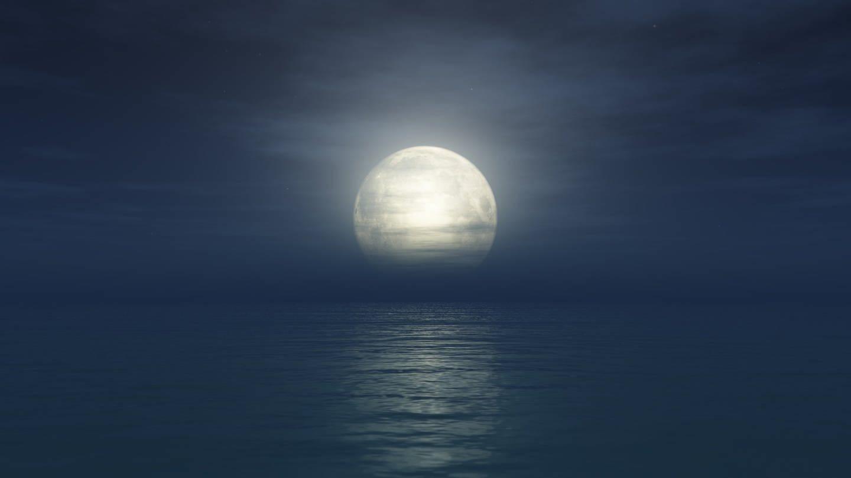 Warum erscheinen Sonne und Mond größer, je mehr sie sich dem Horizont nähern?