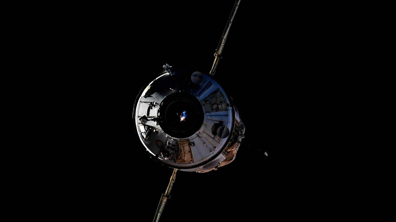 Nauka-Modul vor dem Andocken an die ISS