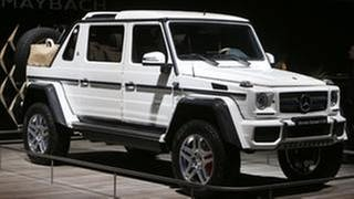 Maybach G 650 auf der IAA (Foto: picture-alliance / dpa, picture-alliance / dpa -)