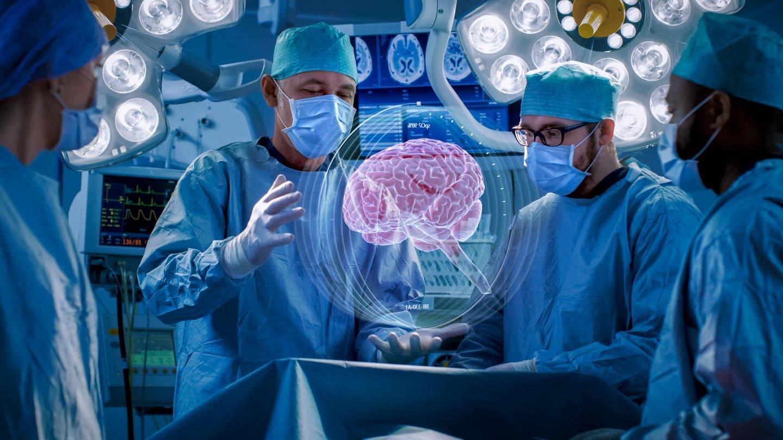 Ärzte werden durch virtuelle Realität im Operationssaal unterstützt