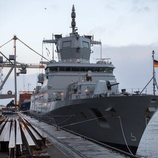 Neues Kriegsschiff – schon veraltet? (Foto: picture-alliance / Reportdienste, Picture Alliance)