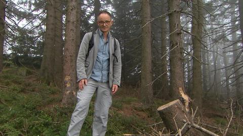 Axel Wagner und der Notfall Natur (Foto: SWR)