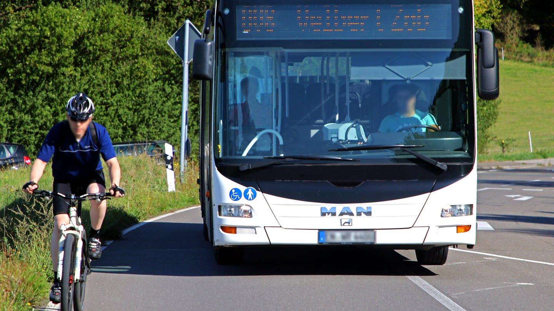 Radfahrer leben gefährlich im deutschen Straßenverkehr (Foto: Imago, nicht bekannt)