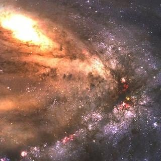Blick in eine animierte Galaxy. (Foto: Getty Images, Thinkstock -)