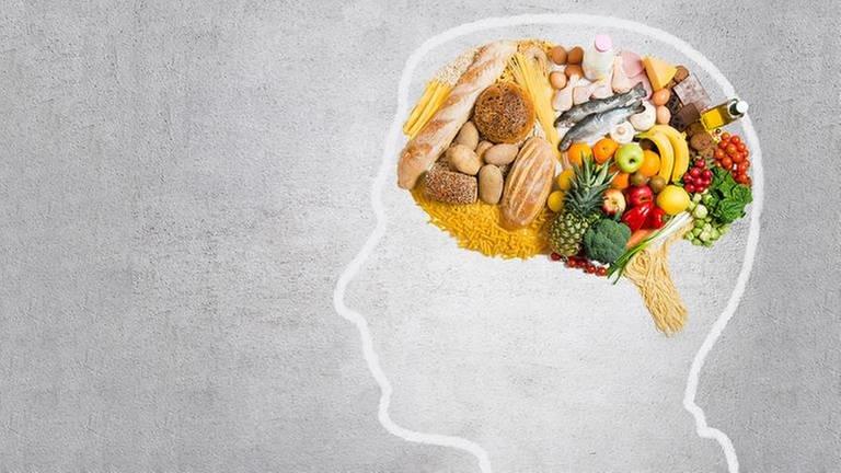 Lebensmittel in Form einen Gehirns (Foto: Getty Images, Thinkstock -)