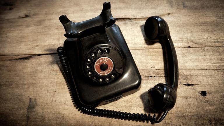 altes schwarzes Telefon (Foto: Getty Images, Thinkstock -)