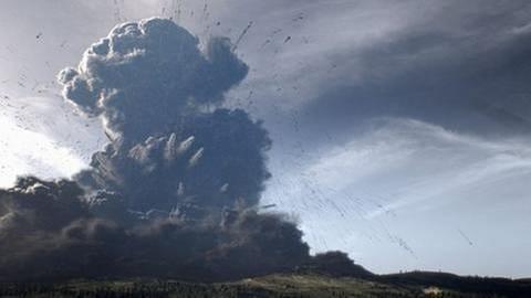 Ausbruch des Laacher See Vulkans - Animation (Foto: SWR, SWR -)