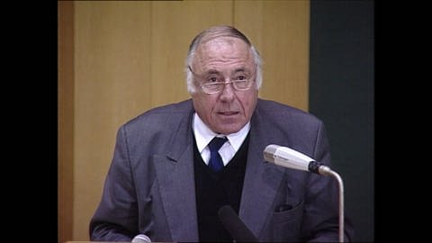 Prof. Dr. Siegfried Unseld (Foto: SWR)
